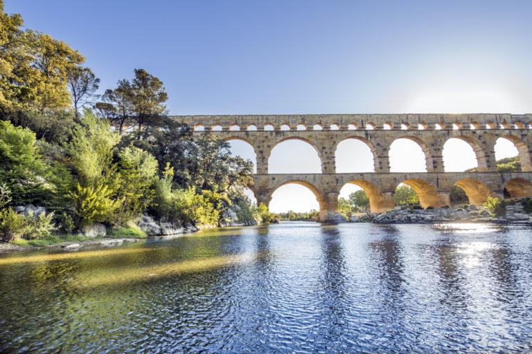 Pont du gard - crédit photo : R. Sprang